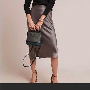 NWT Anthropologie Hutch grey skirt